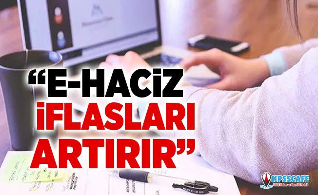 CHP'li Budak'tan E-Haciz Uygulamasına Tepki!