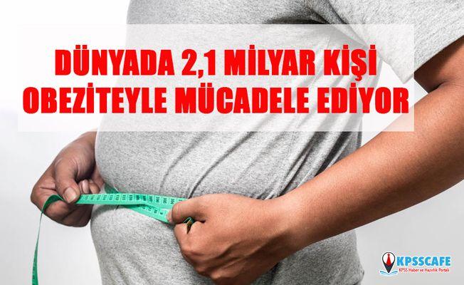 Dünyada 2,1 Milyar Kişi Obeziteyle Mücadele Ediyor!