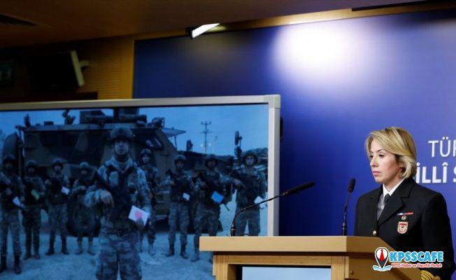 Milli Savunma Bakanlığı: Barış Pınarı Harekatı'nda 40 mayın ve 227 EYP etkisiz hale getirildi