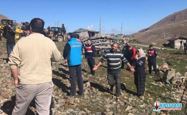 Anzer Yaylası'nda yıkım gerginliği