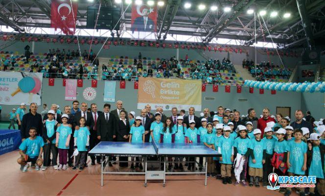 Uçan Raketler Trabzon'da 10 bin çocuğu masa tenisi ile buluşturacak