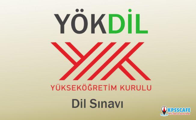2019-YÖKDİL Sınav Giriş Belgeleri Açıklandı!