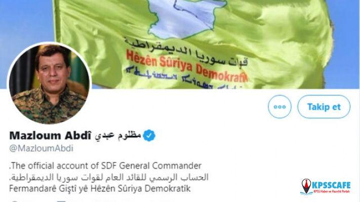 Twitter'dan skandal karar! Terörist başı için bakın ne yaptı!
