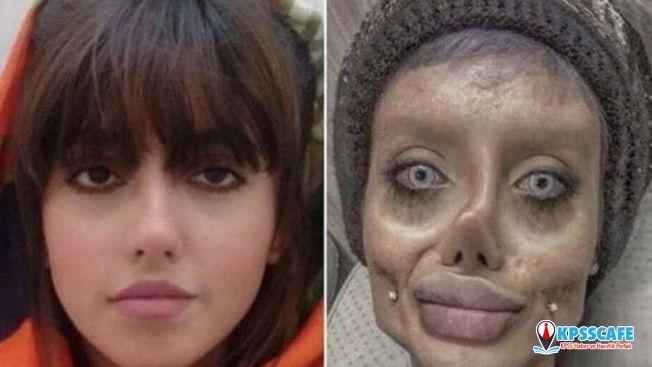 """İranlı zombi kız: """"Sosyal medya hayatımı kararttı"""""""