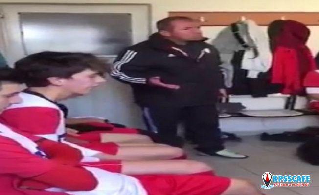 Futbolcularını tokatlayan teknik direktör Kurt konuştu: Dayak cennetten gelme