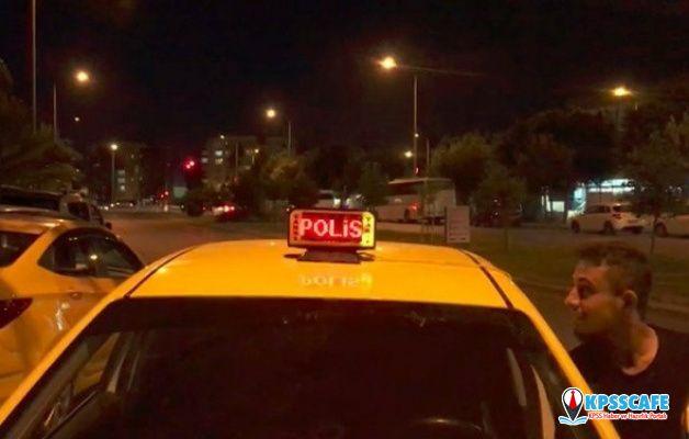 Bu taksiyi trafikte gören polisi arasın!