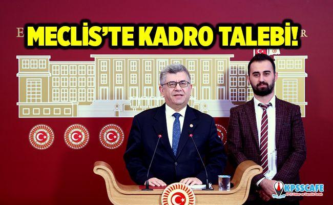 Fizik Tedavi Teknikerleri ve Fizyoterapistlere Meclis'te Kadro Talebi!