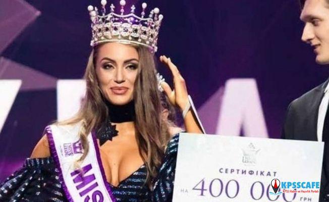 2019'un Ukrayna güzeli 'Kırım kimin?' sorusuna sıra dışı bir yanıt verdi