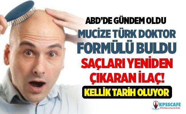 Mucize Türk Doktor Osman Kibar Formülü Buldu! Kellik Tarih Oluyor! Saçları Yeniden Çıkaran İlaç!