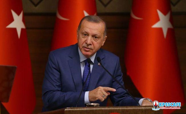 Cumhurbaşkanı Erdoğan'dan 29 Ekim mesajı!