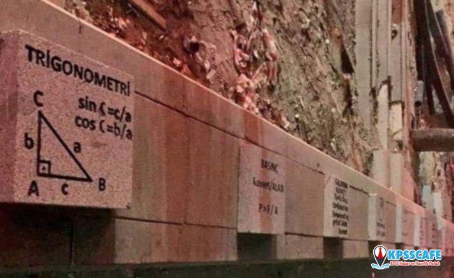 Ankara kaldırımlarında trigonometri formülü
