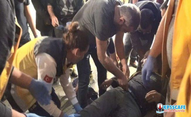 Mandalinaları beğenmeyip pazarcıları vuran polis tahliye oldu!