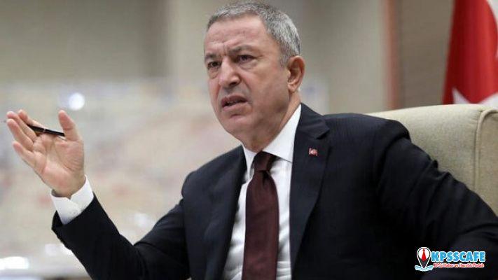 ABD yine sözünü tutmadı! Bakan Akar'dan YPG açıklaması!