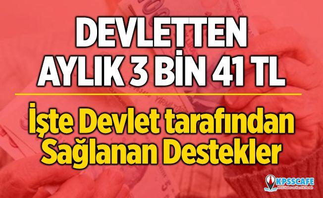 İŞKUR'dan işsizlere 3 bin 41 TL! İşte işsizlere sağlanan destekler...