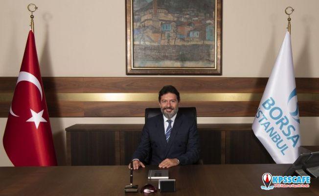 BİST Genel Müdürü Atilla'dan Alçı'ya teşekkür!