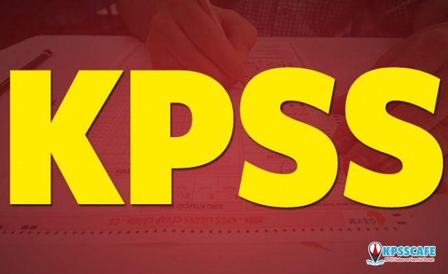 KPSS 2020 ne zaman yapılacak? 2020 KPSS başvuruları nasıl, nereden yapılacak?