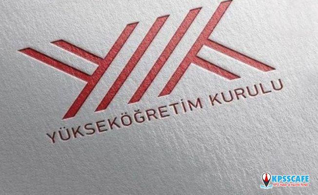 YÖK Başkanı Saraç: Bazı lisans bölümlerinin ismi değişecek