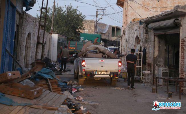 Hasankeyf'te son anlar: Tarihi çarşı boşaltıldı, yol kapatıldı