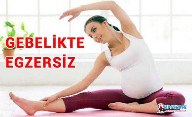 Hamilelikte egzersiz yapmak hem anne hem bebek için faydalı!