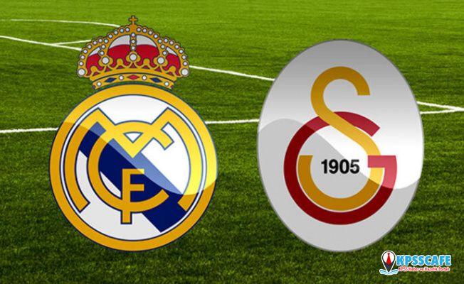 Real Madrid Galatasaray maçı ne zaman saat kaçta hangi kanalda?