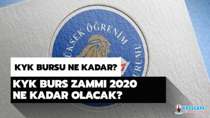 2020 KYK bursu ne kadar olacak? KYK burs başvuru sonuçları ne zaman açıklanacak?