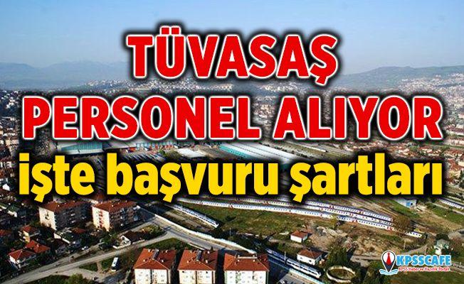 Türkiye Vagon Sanayi (TÜVASAŞ) personel alımı başvurusu nasıl yapılır?
