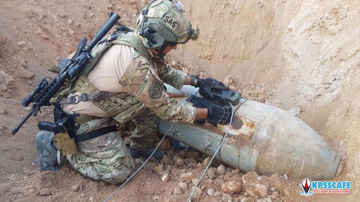PKK asker bombaları kullanmış! Asker böyle imha etti
