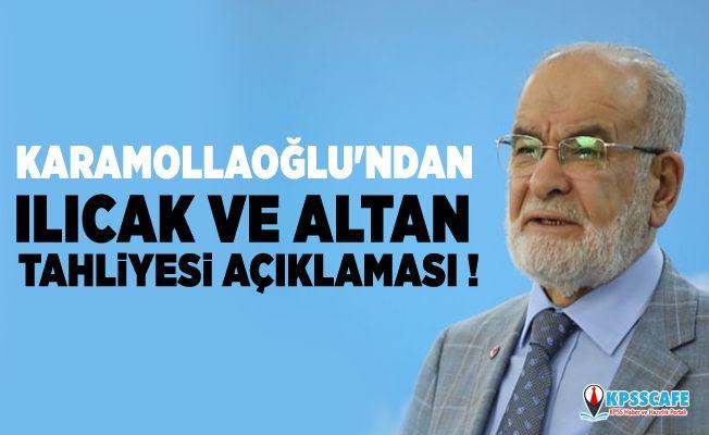 Temel Karamollaoğlu'ndan Ilıcak ve Altan tahliyesi hakkında flaş açıklaması!