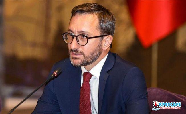 İletişim Başkanı Altun: DEAŞ elebaşı Bağdadi'nin eşi dahil bütün aile üyeleri gözaltına alındı