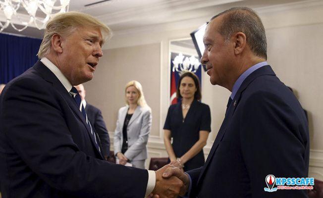 Cumhurbaşkanı Erdoğan, Trump ile telefonda görüştü: 13 Kasım'da ABD'ye gidiyor