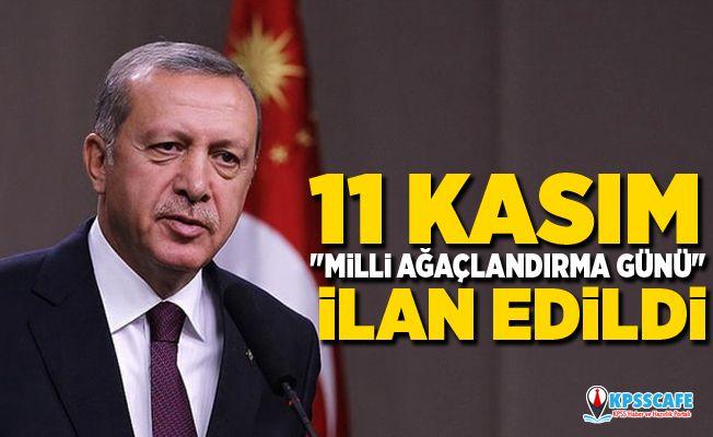 Cumhurbaşkanı Erdoğan'dan 11 Kasım sürprizi! Artık her yıl kutlanacak