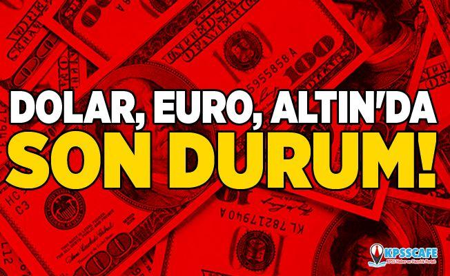 Dolar, Euro, Altın'da Son Durum!