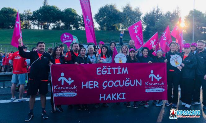 REHAU, Avrasya Maratonu'nda Koruncuk Vakfı yararına koştu