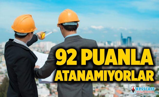 İnşaat Mühendisleri KPSS 92 Puanla Atanamıyor!