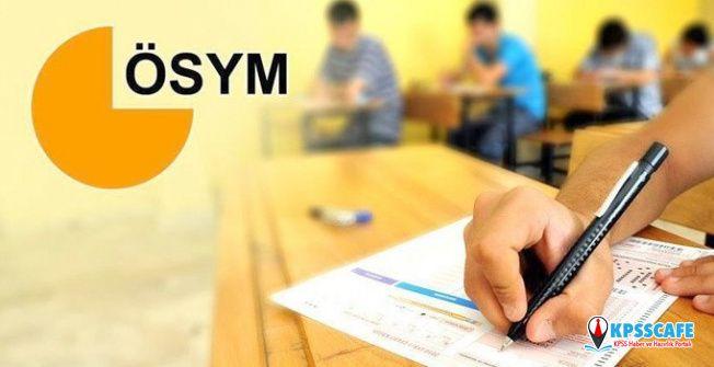 2020 ÖSYM sınav takvimi | 2020 LGS, YKS, DGS, KPSS, ALES sınavları ne zaman? Başvuru tarihleri