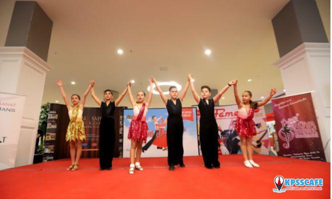 Minikler, Bilkent Center'da Dans Ediyor!