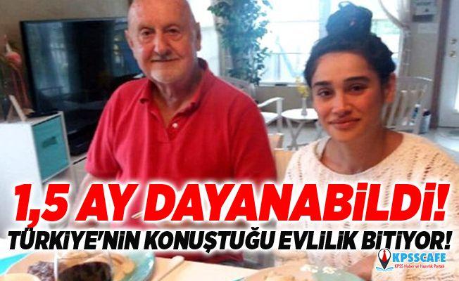 1,5 Ay Dayanabildi! Türkiye'nin Konuştuğu Evlilik Bitiyor!