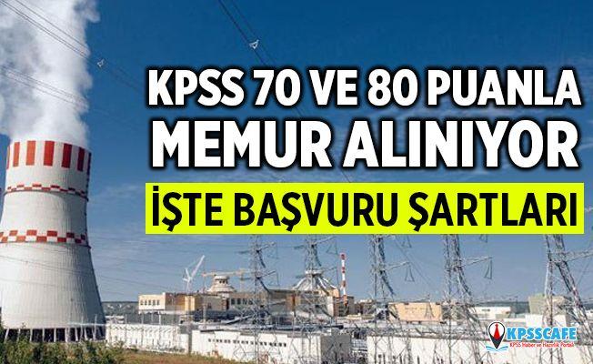 Türkiye Enerji, Nükleer ve Maden Araştırma Kurumu KPSS 80 Puan İle 30 Personel Alımı Yapacak