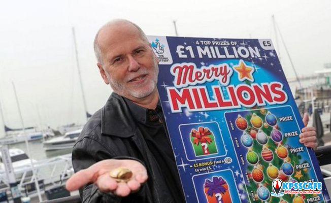 Hasta eşini eğlendirmeye çalışırken milyoner oldu!