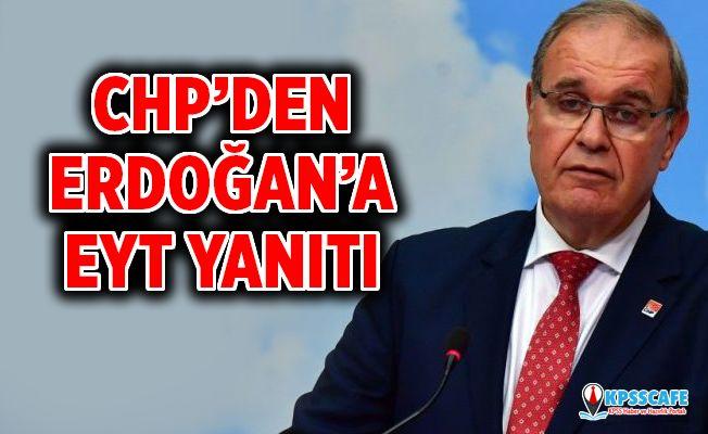CHP'den Erdoğan'a Emeklilikte Yaşa Takılanlar (EYT) Yanıtı!