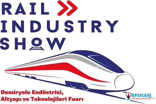 Uluslararası Demiryolu sektörü ilk kez Eskişehir'de