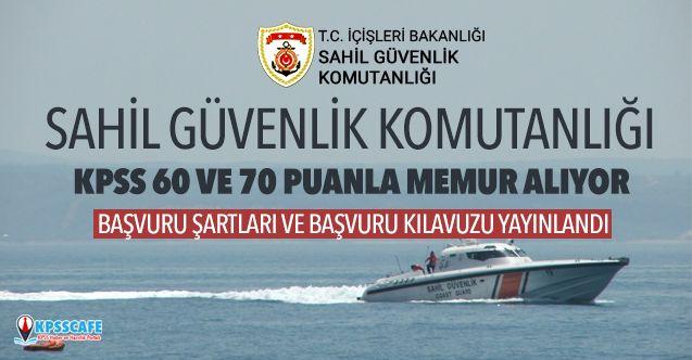 Sahil Güvenlik Komutanlığı KPSS 60 Puanla Memur Alıyor! İşte Başvuru Şartları...