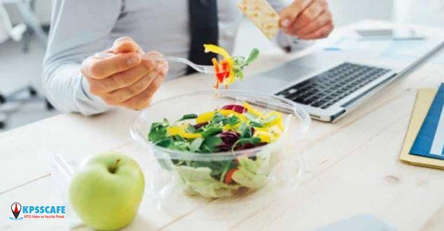 Ofis Çalışanlarına Sağlıklı Atıştırmalık Önerileri!