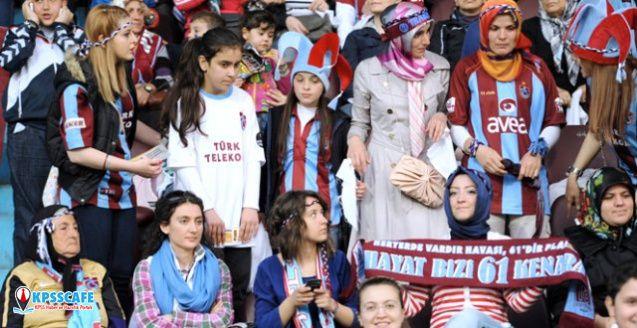 Kadın taraftar sayısında Trabzonspor zirvede!