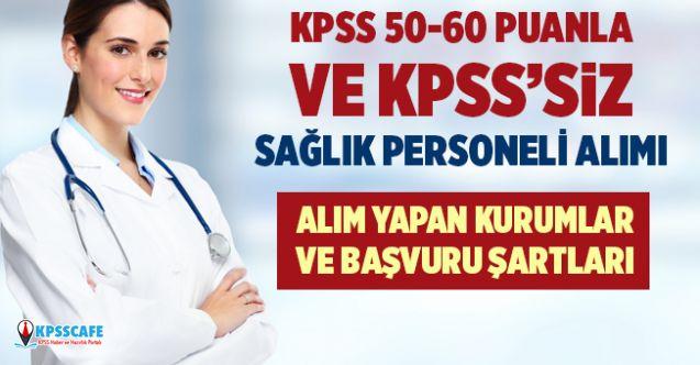 KPSS'siz ve KPSS 50 Puanla 1500 Personel Alımı Yapılacak!