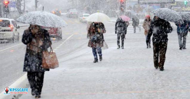KAR GELİYOR! Meteoroloji'den o iller için son dakika sağanak ve kar uyarısı!
