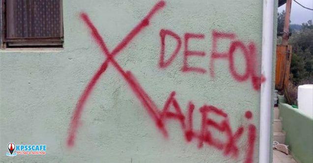 İzmir'de Alevi ailenin evi işaretlendi!