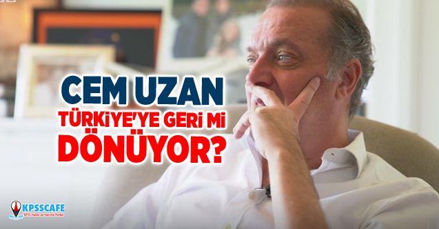 Cem Uzan Türkiye'ye geri mi dönüyor? Avukatı açıkladı...