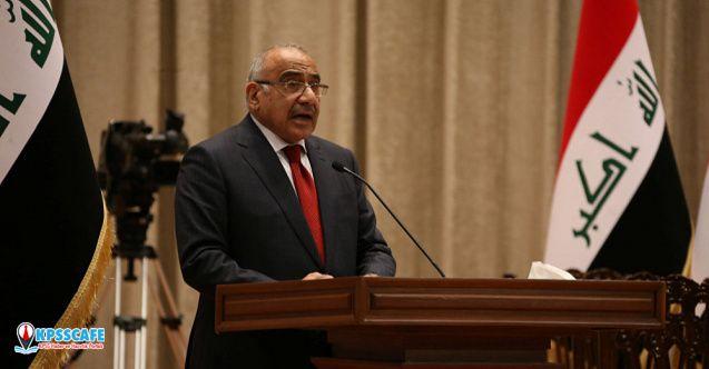 Kan gölüne dönen Irak'ta Başbakan Abdulmehdi istifa etti!