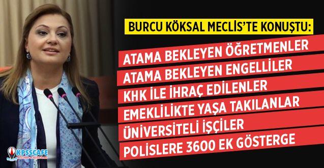 Burcu Köksal: 700 Bin Öğretmen ve 5 Bin Engelli Öğretmen Atama Bekliyor!